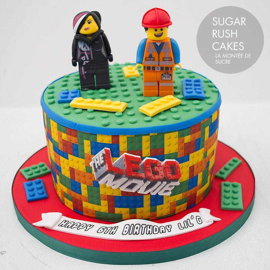 LEGO Movie Cake Cakes LEGO Pinterest Lego Movie Cake - Lego birthday cake decorations