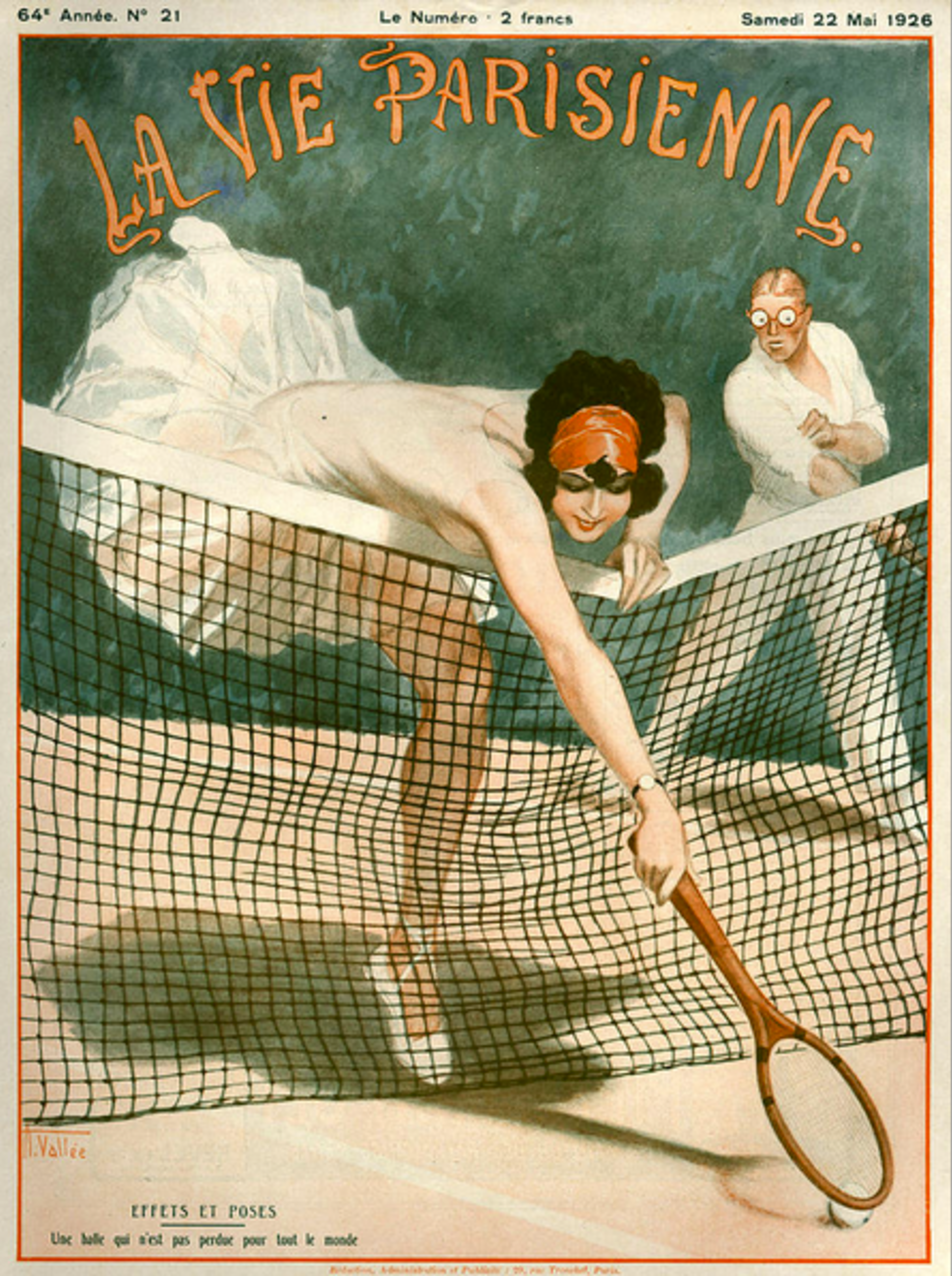 30 Tennis-Themed Magazine Covers Throughout History | Art ...