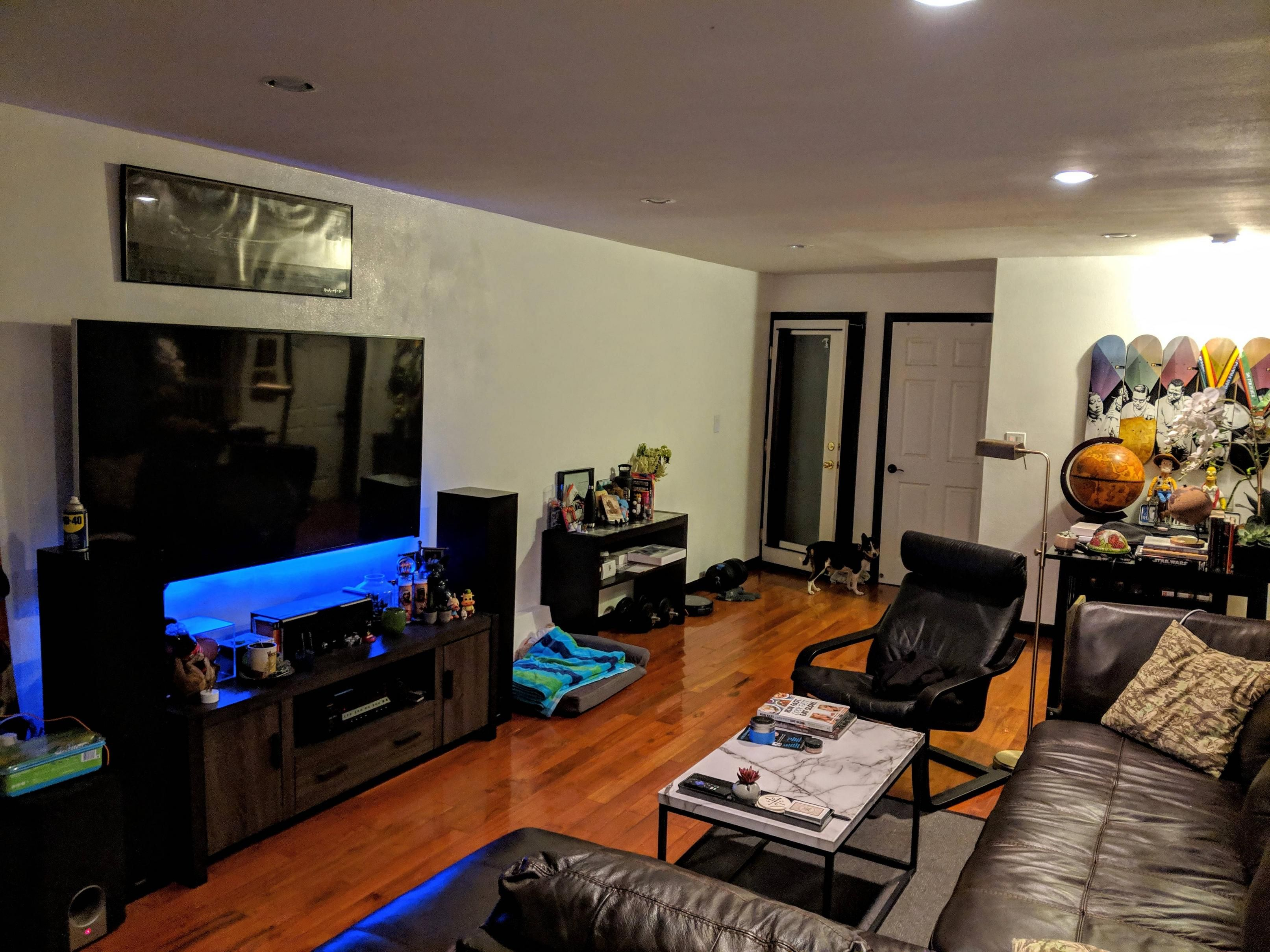 Newly Painted And Refurnished My Living Room In San Francisco Mens Apartment Decor Man Room First Apartment Decorating