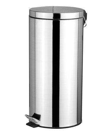 Look At This Zulilyfind Stainless Steel Waste Bin By Home Basics Zulilyfinds Home Basics Waste Basket Trash Can