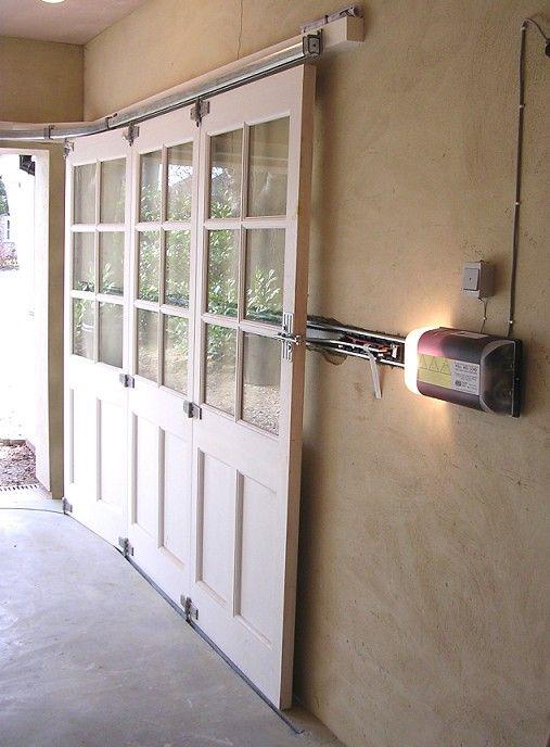 Sliding garage doors 192 fence pinterest the head for French garage doors