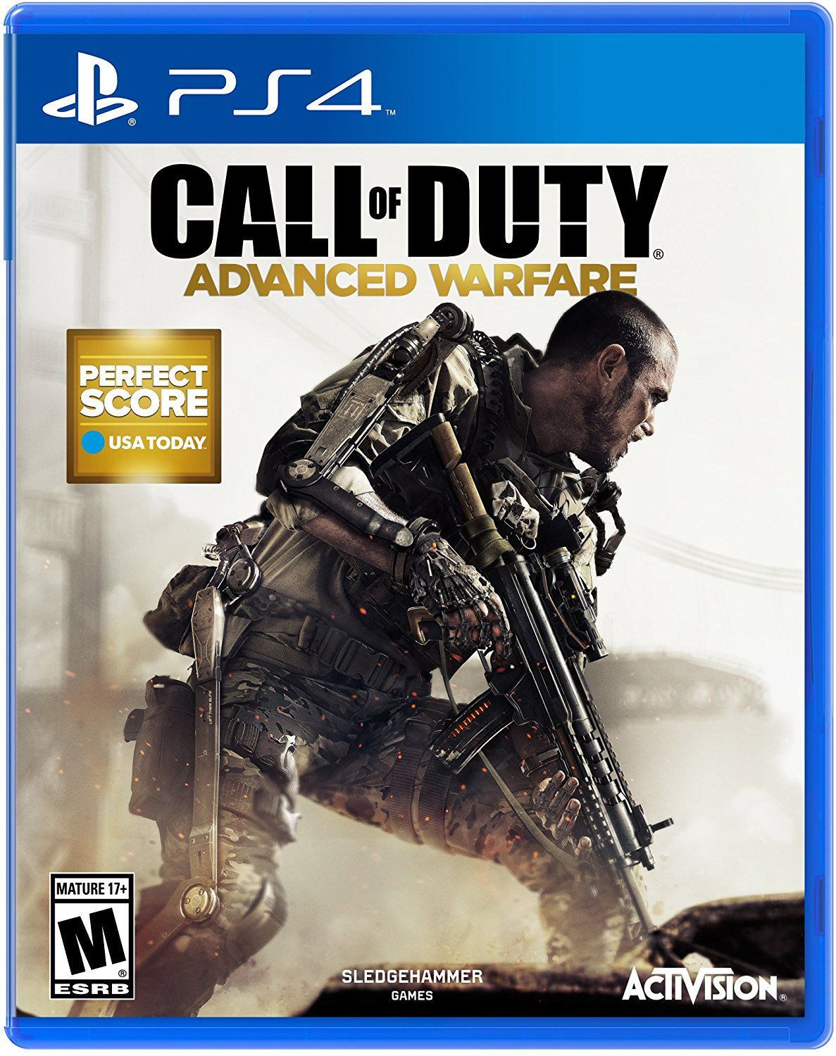 Call Of Duty Advanced Warfare Ps4 Factory Refurbished With