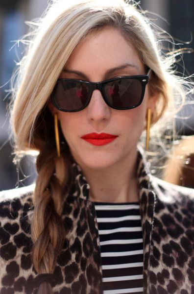 stylish, all : stripe and leopard.