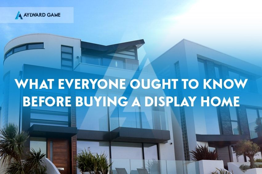 Buying a display home as an investment property and