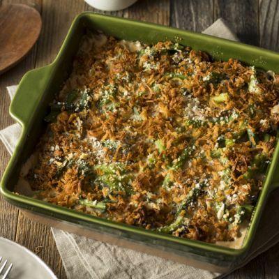 Traditional Thanksgiving Green Bean Casserole