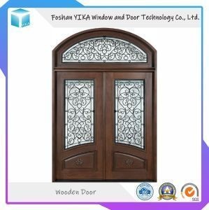[Hot Item]  Natural wood door with square front entrance …
