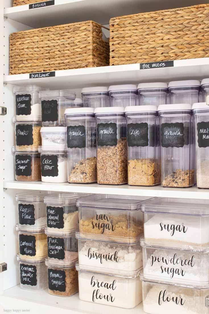 Épinglé par Napua Subiono sur Kitchen Pantry Ideas   Garde manger ...