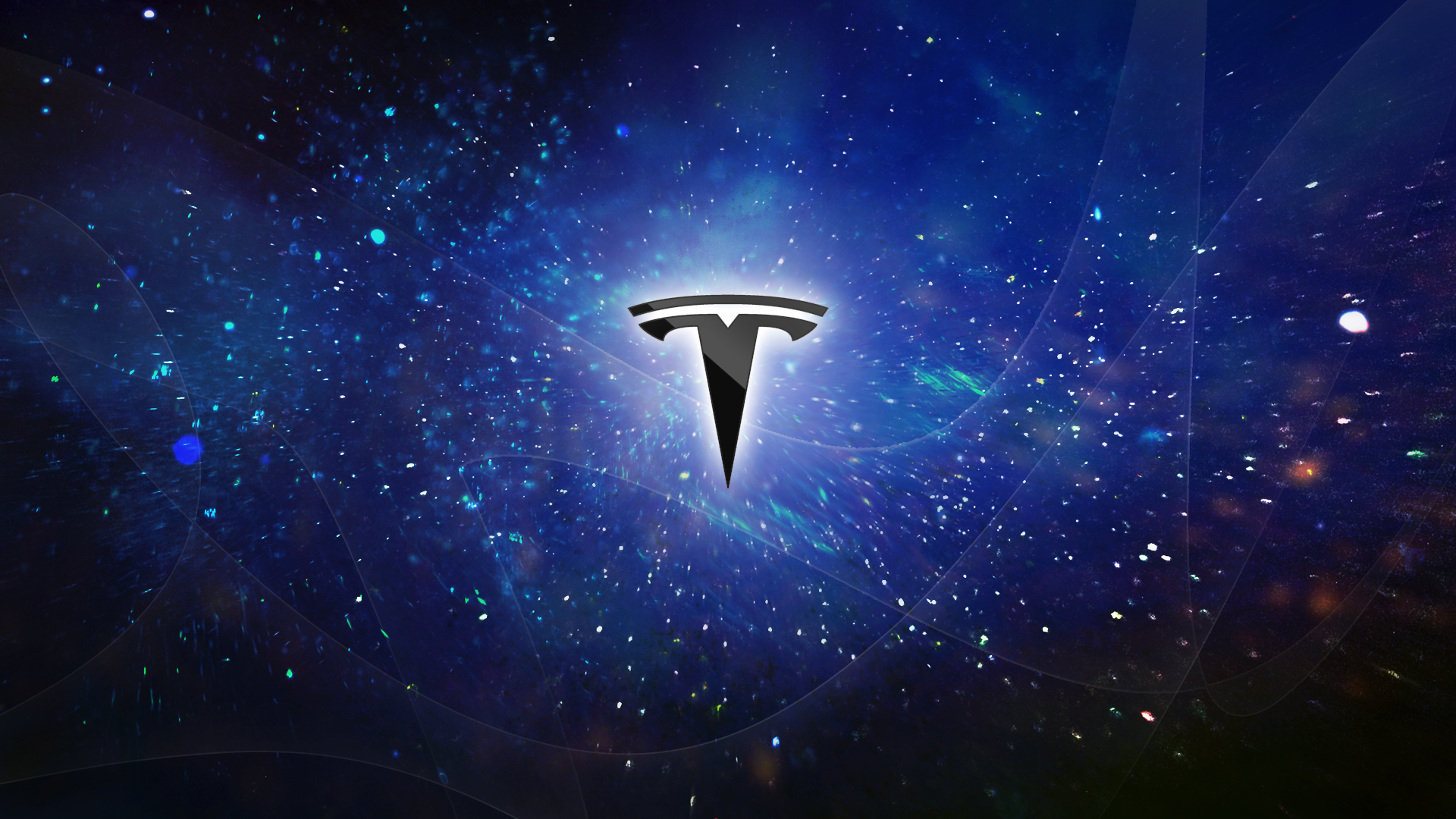 Tesla Motors logo General 1920x1080 Logo background