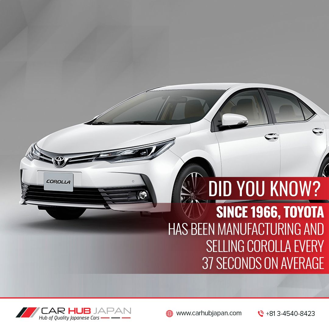 Toyota Corolla The Best Selling Car Of The World Carhubjapan