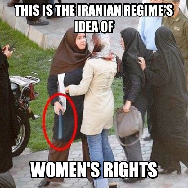 5d00e095f95c9d54e0c77294474567b4 the brutality against women in iran is amazing iran memes