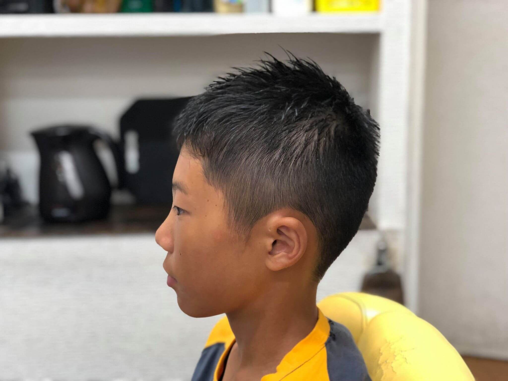 ボード 男の子 髪型 小中学生 Boy Hairstyle のピン