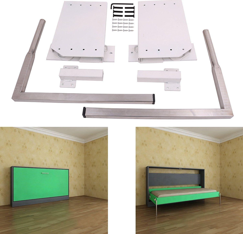 DIY Murphy Wall Bed Springs Mechanism Hardware
