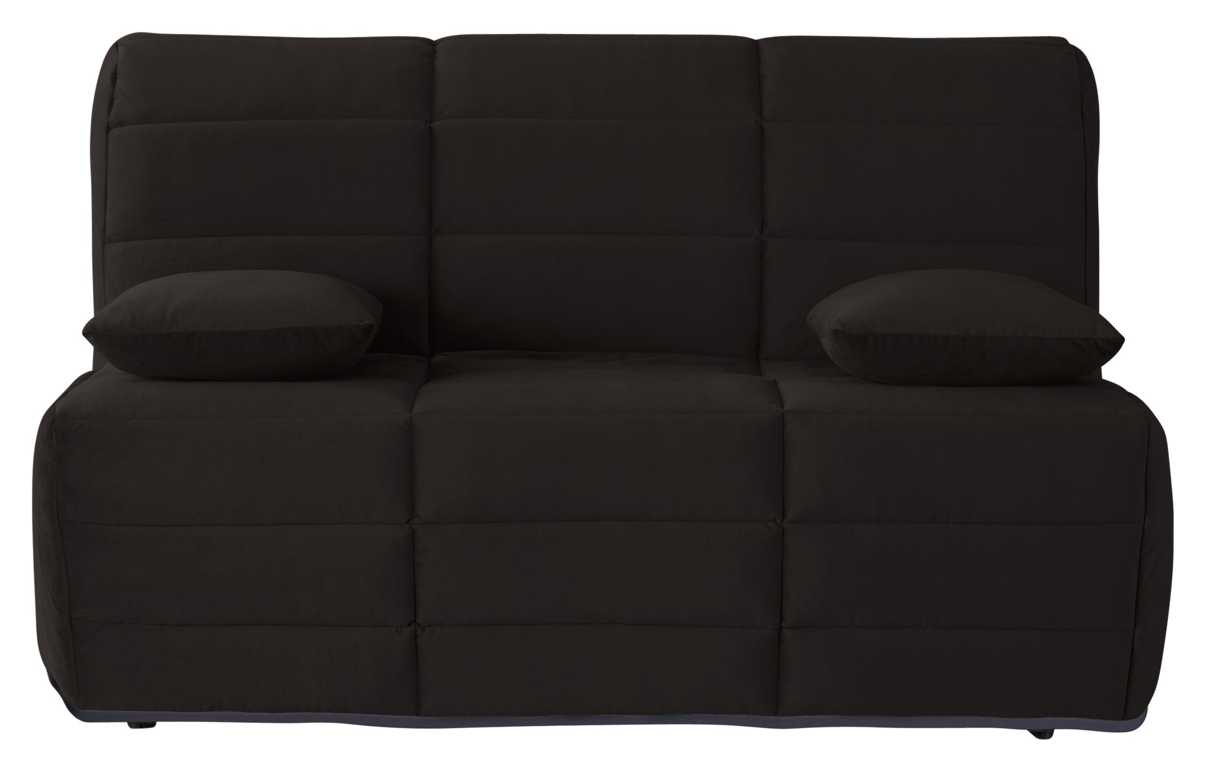 Banquette Bz Noir 160 Dunlopillo Luiz En 2020 Tissu Microfibre
