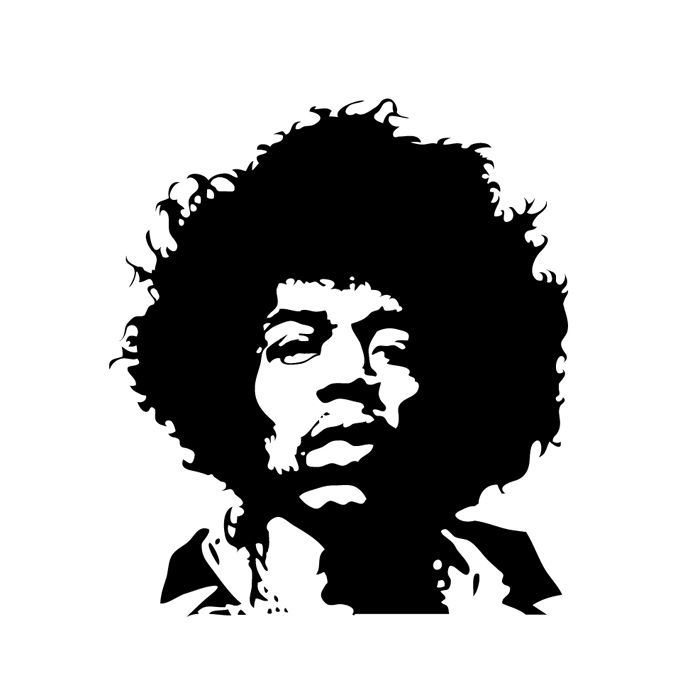 Black and white vector portrait google search