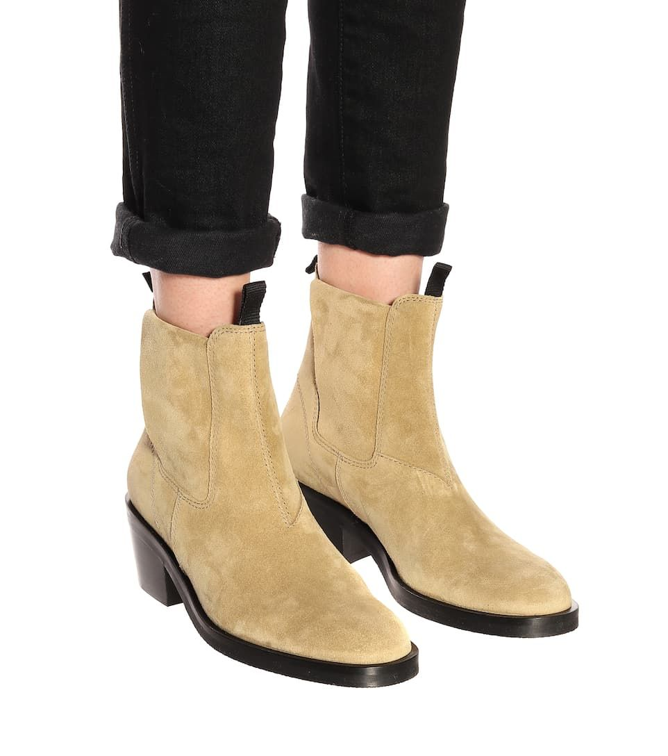 Acne Studios - Suede ankle boots