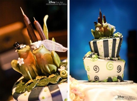 Wedding Cake Wednesday: The Princess and the FrogEver After Blog ...