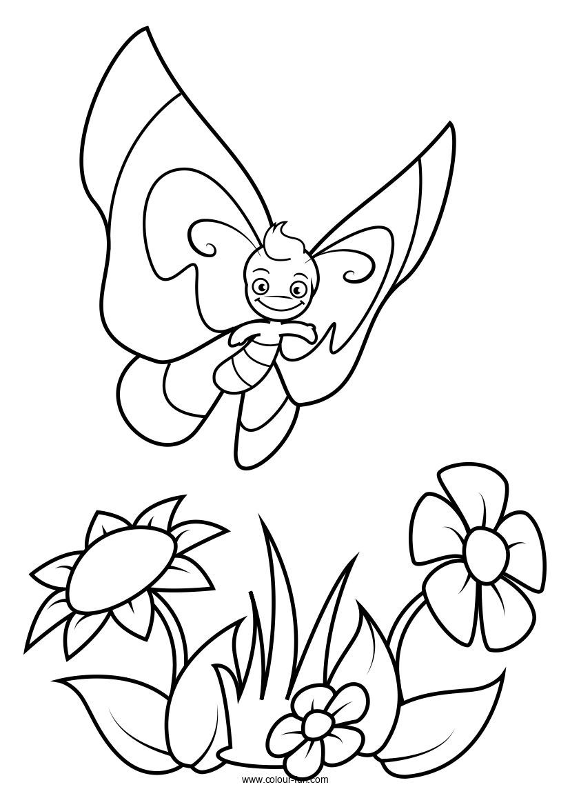 Colouring Pages Butterfly Pages Colour Fun Butterfly Coloring Page Coloring Pages Printable Coloring Book [ 1170 x 827 Pixel ]