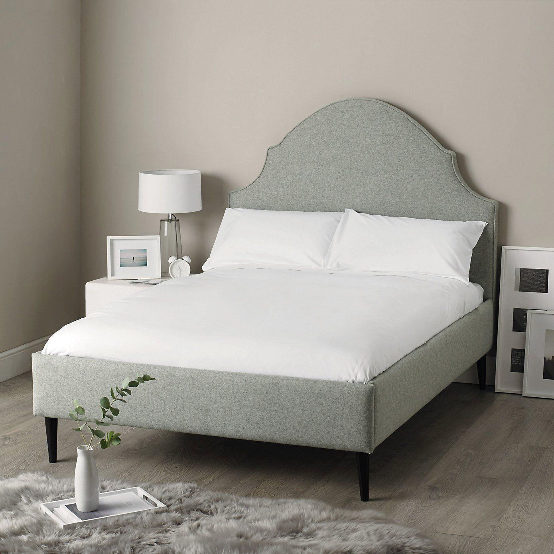 Best Mayfair Bed Light Grey £2 050 King W159Xl213Xh145Cm 640 x 480
