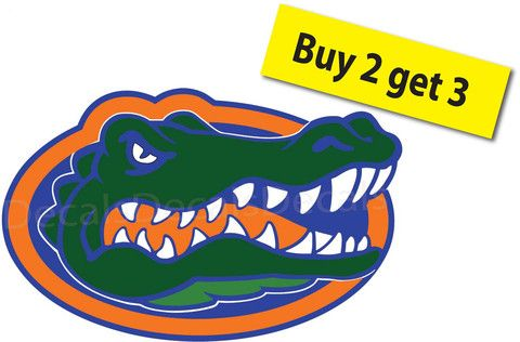 Florida Gators College Football Full Color Buy 2 Get 3 SEC