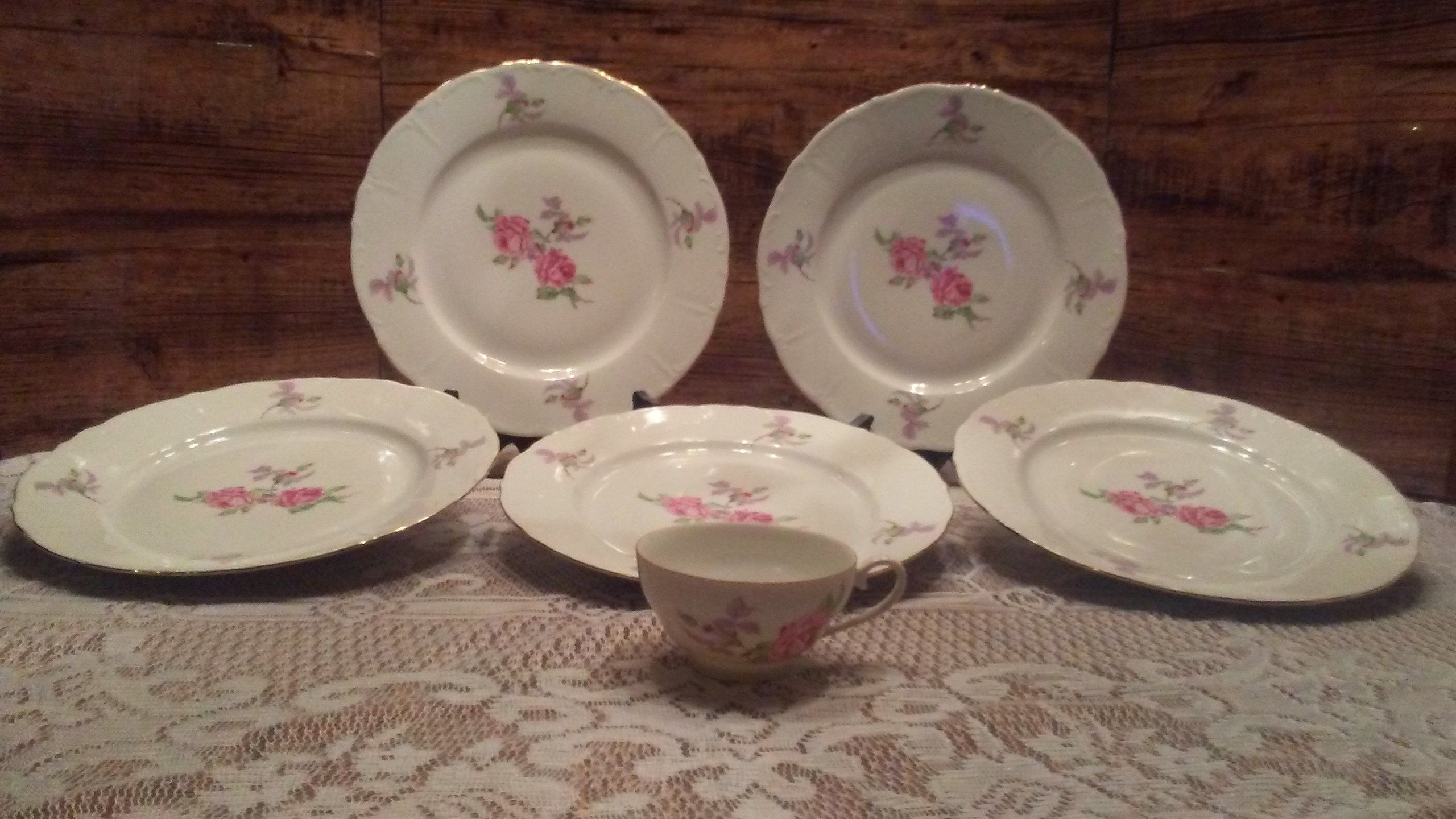 This item is unavailable  Fine china, Rose pattern, Vintage china