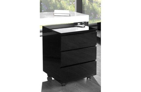 Caisson de bureau noir boss bureau design bureaux