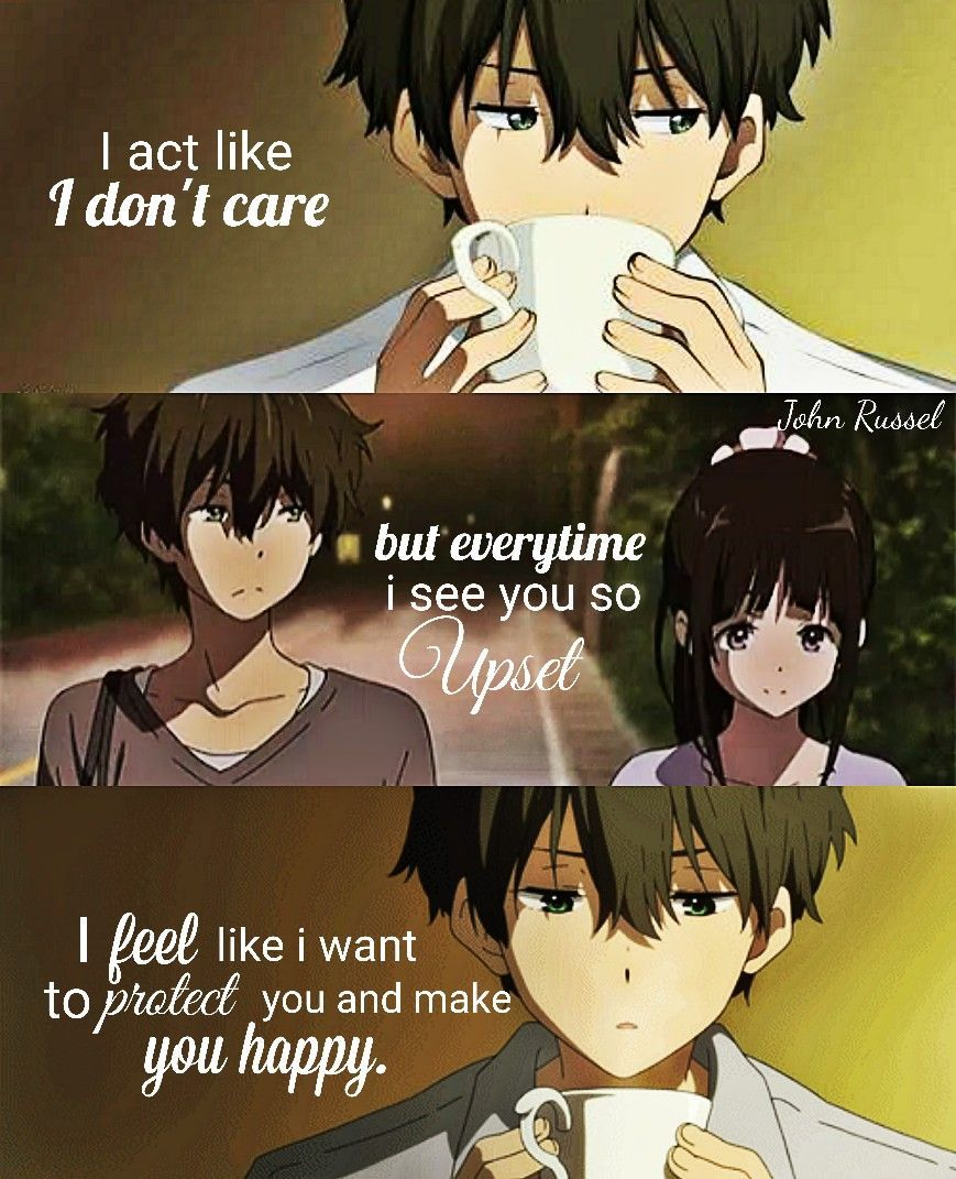 A broken heart crying out for a lifetime with you! Anime