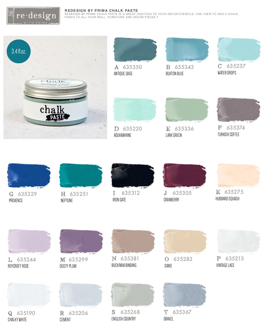 Redesign Chalk Paste