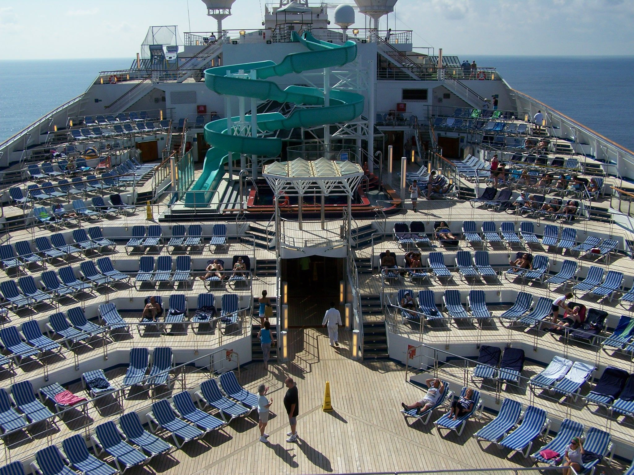 Carnival Triumph Pool Deck Places I Have Been