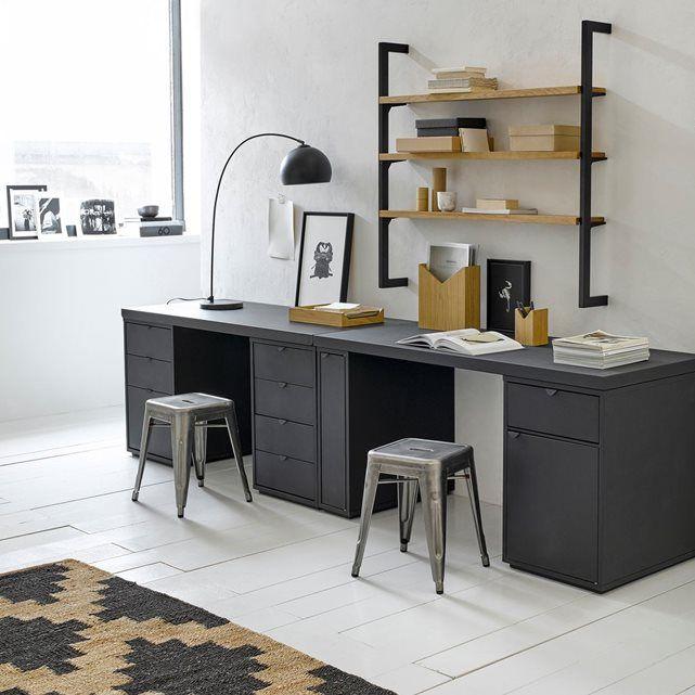 am pm caisson de bureau 3 tiroirs angus la redoute un bureau la maison pinterest. Black Bedroom Furniture Sets. Home Design Ideas