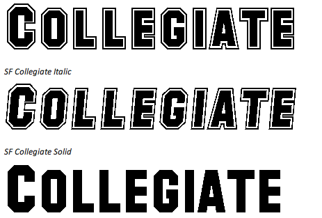 25 Free College Fonts Collegiate Font Free College Font Graphic