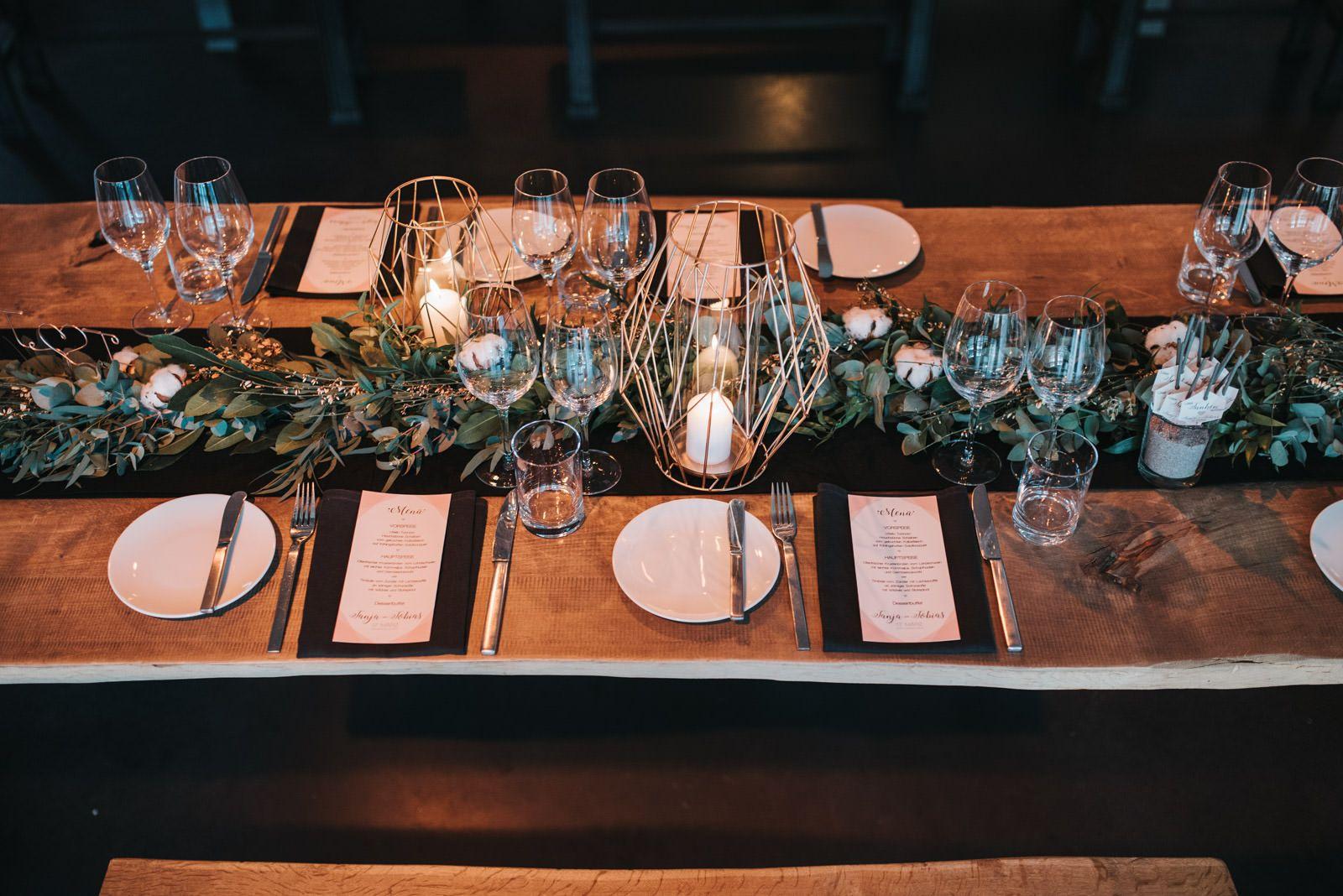 Tischdekoration Urban Chic Urban Hochzeit Hochzeitsdeko