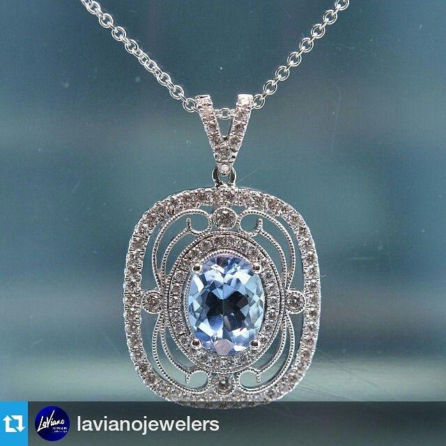 Repost Lavianojewelers Did You Know That Aquamarine