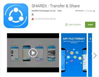 How to install SHAREit in Pc and Android Download