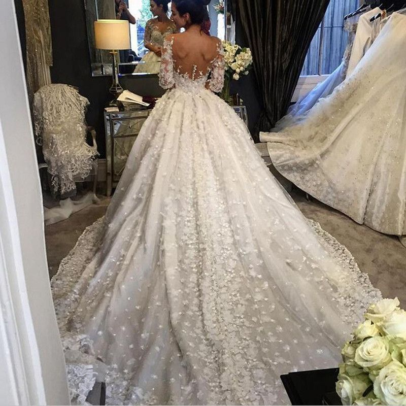 Item Type Wedding Dresses Train Cathedral Royal Train