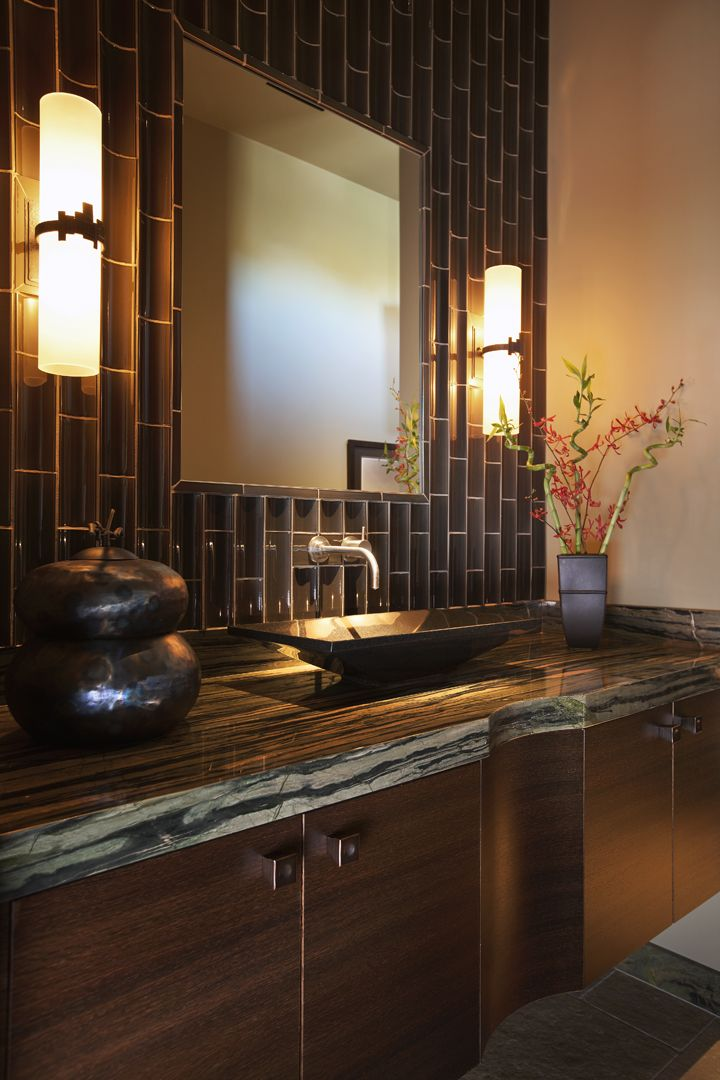 Interior Design by KT Tamm - Transitional Remodel - Bathroom