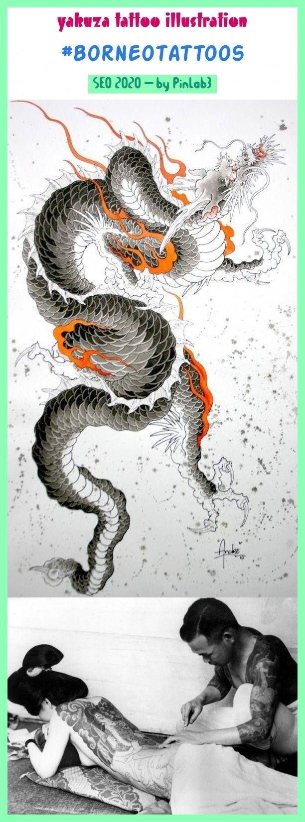 Yakuza tattoo illustration yakuza tattoo illustration