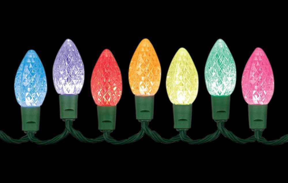 Lumenplay App-Enabled LED Indoor/Outdoor C9 Lights   www