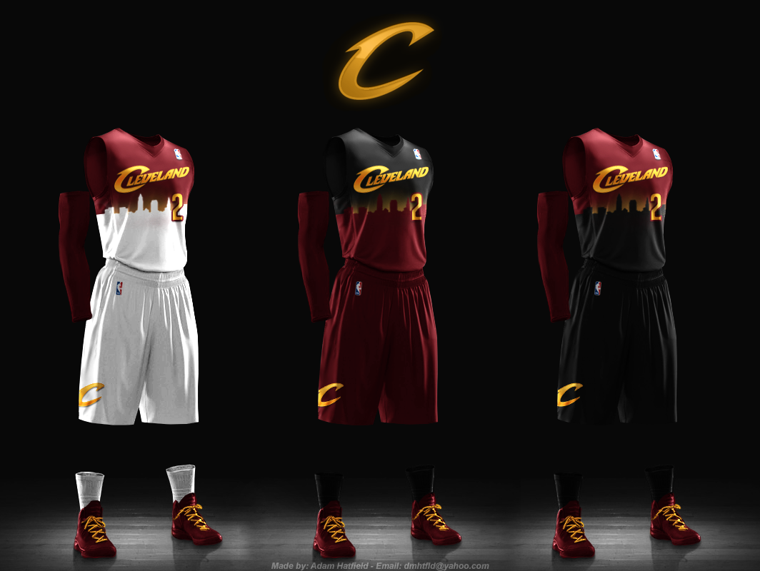 Cleveland Cavaliers Redesign Results Ideas Of New Cavs Jerseys