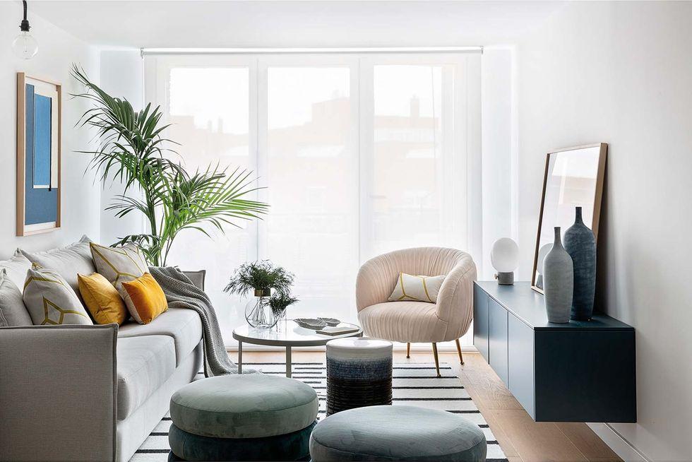 Un piso decorado con calidad eterna