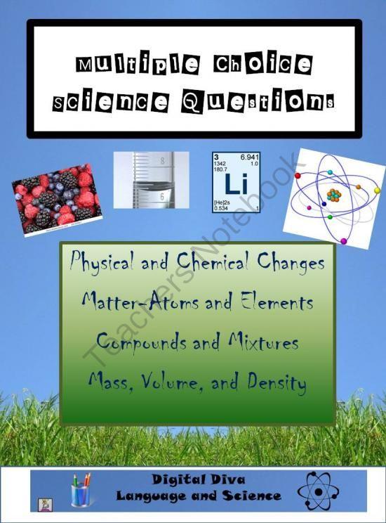 Physical Science Multiple Choice Questions - copy ubicacion de los elementos en la tabla periodica pdf