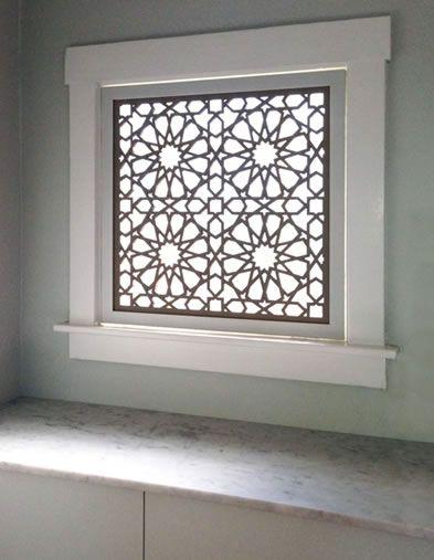 Luxury Basement Screen Window
