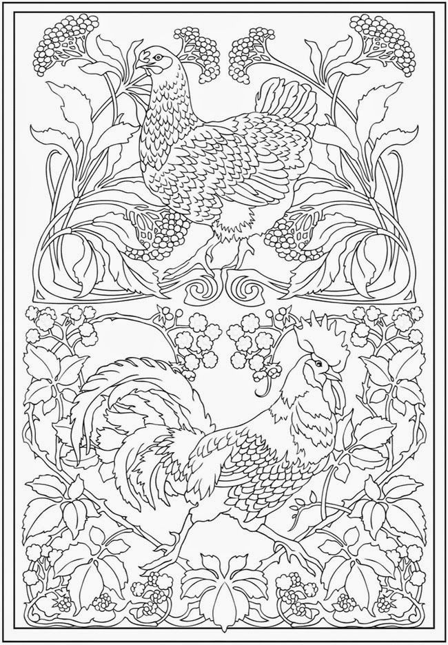 Free Printable Fun for Everyone: Printable Adult ( Complex) Coloring ...