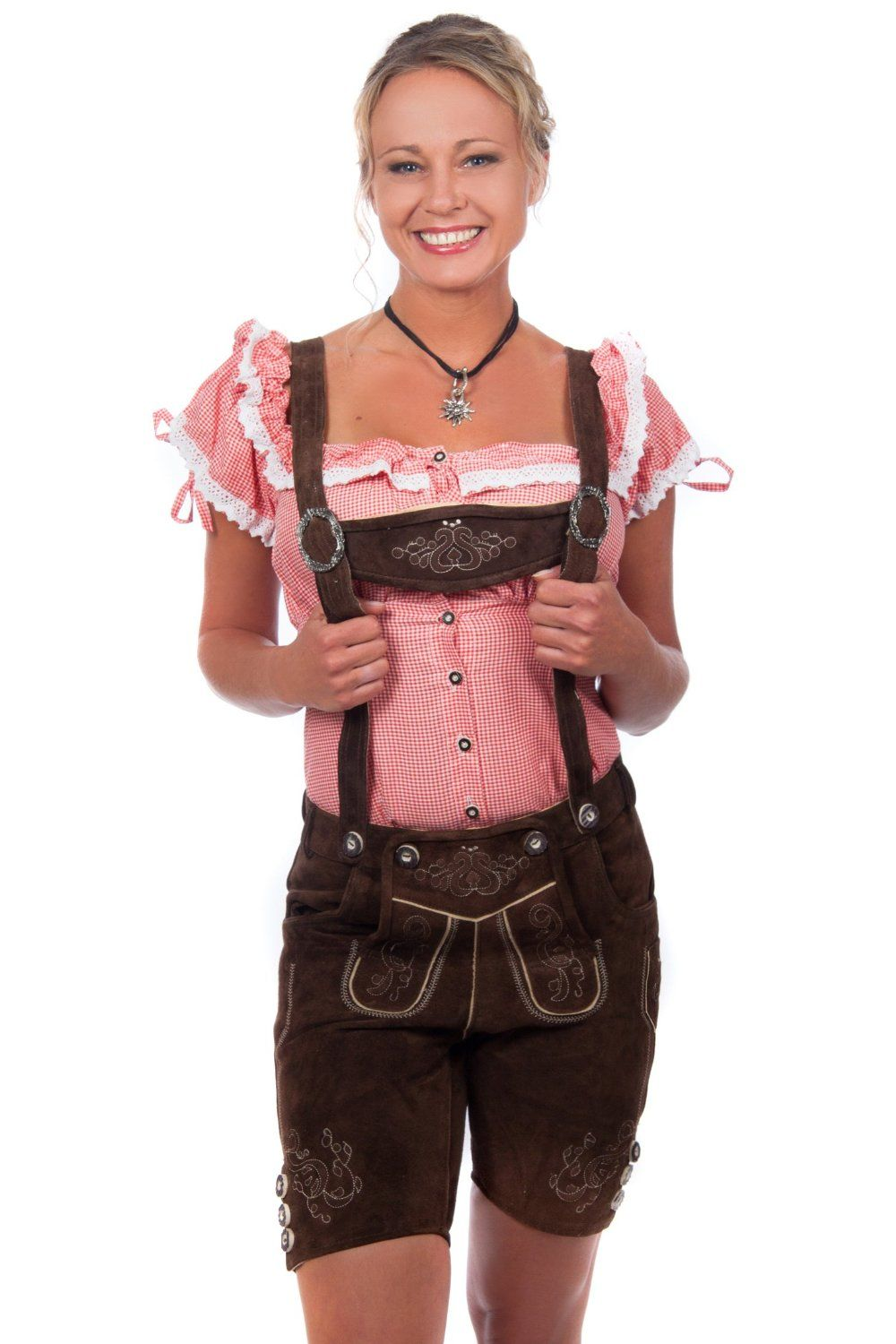 Authentic Lederhosen for Women http   www.oktoberfesthaus.com Lederhosen  Costume, ac65916eab