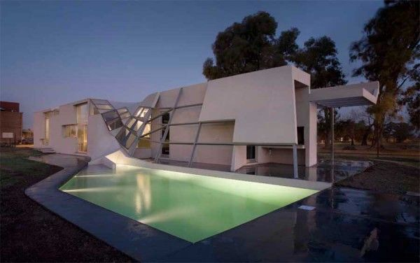 FYF Means Argentina\'s Most Unusual Curved House Design Read more ...