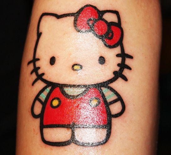35 Cute Crazy Hello Kitty Tattoo Design Hello Kitty Tattoos Hello Kitty Hello Kitty Earrings