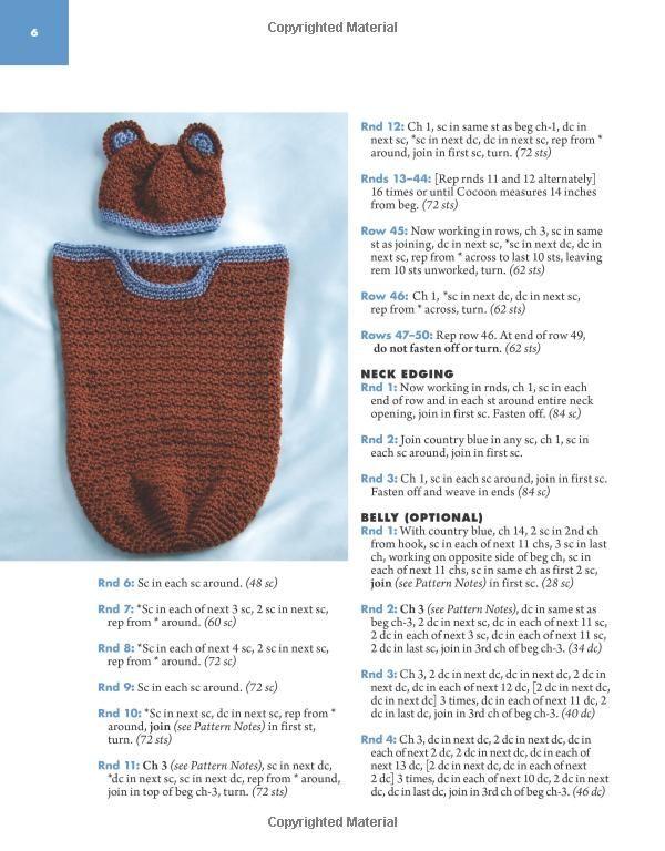 Cuddle Cocoons for Infants (Annie\'s Attic: Crochet): Sandy Powers ...