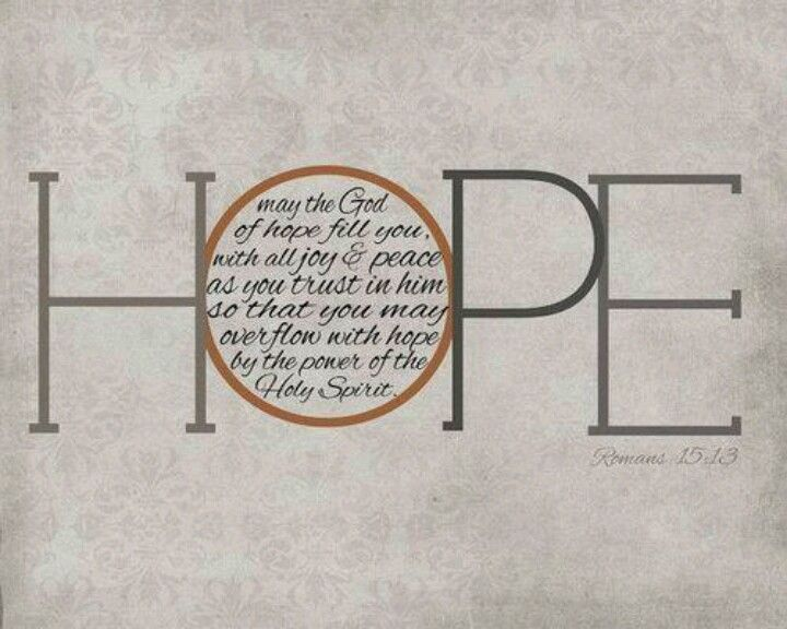 Romans 15:13 I think I want this as a tattoo | Bible quotes, Word of god,  Words