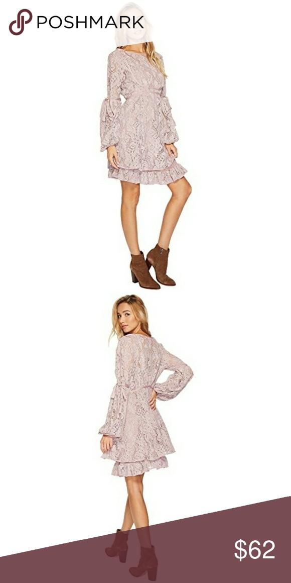 7c0b2b0dbc700 Free People Lace Dress Free People Ruby lace mini dress in lavender color.  Dreamy boho