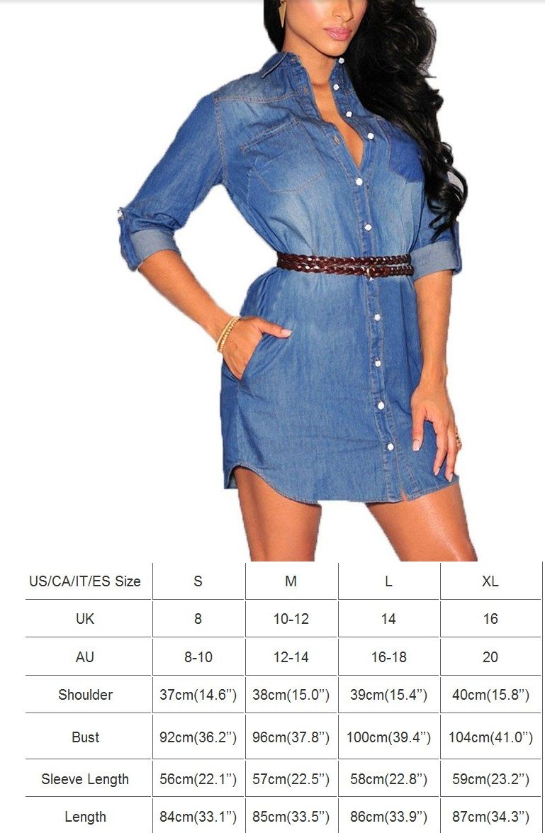Svetlana S Online Store Casual Denim Dress Womens Denim Dress Denim Mini Dress [ 1182 x 769 Pixel ]