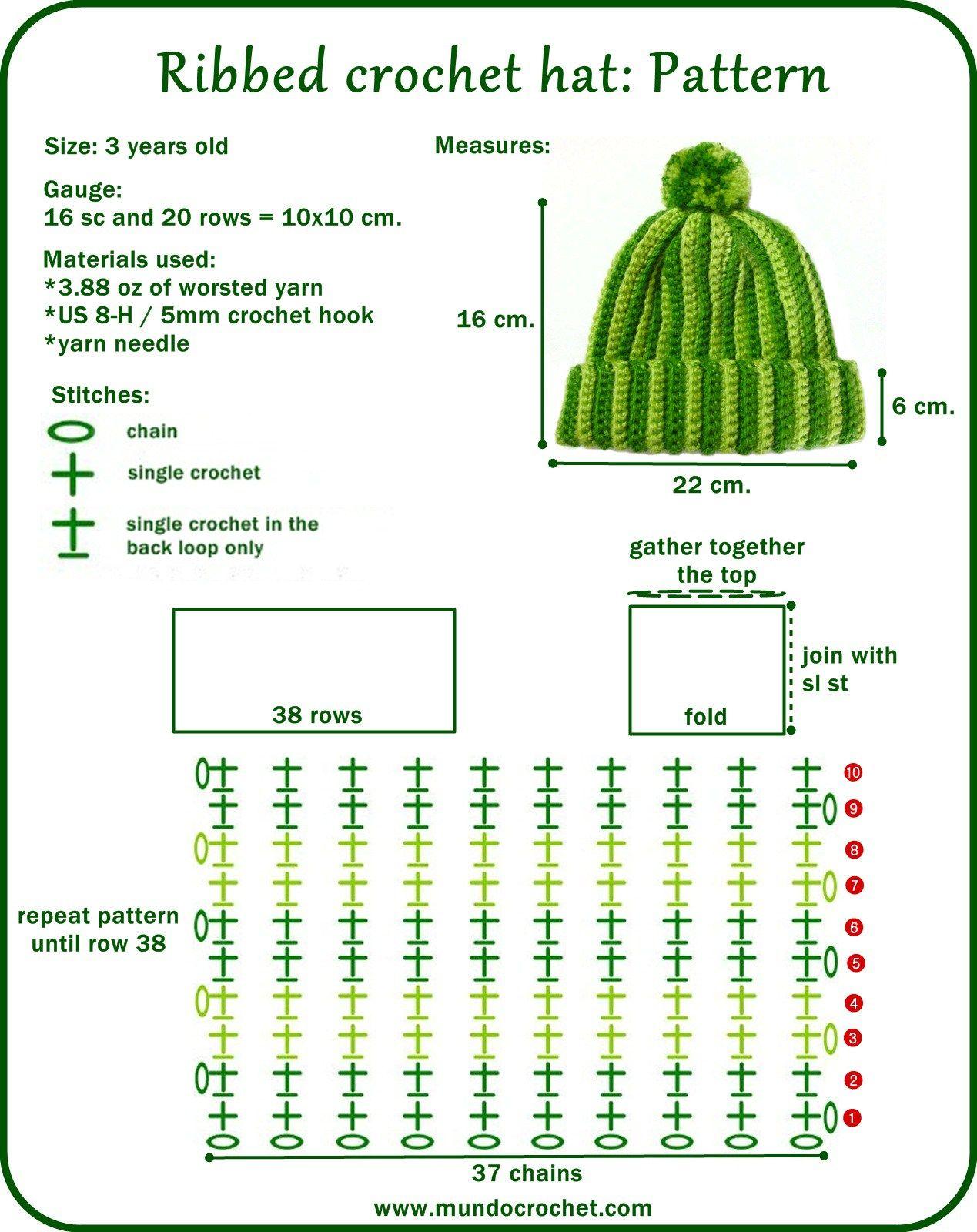 Gorra-verde-foto-en1.jpg 1,269×1,600 pixeles   Crochet   Pinterest ...